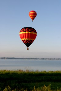 Photo By Experience Kissimmee  Hot-Air-Balloon-Rides-over-lake-in-Kissimmee