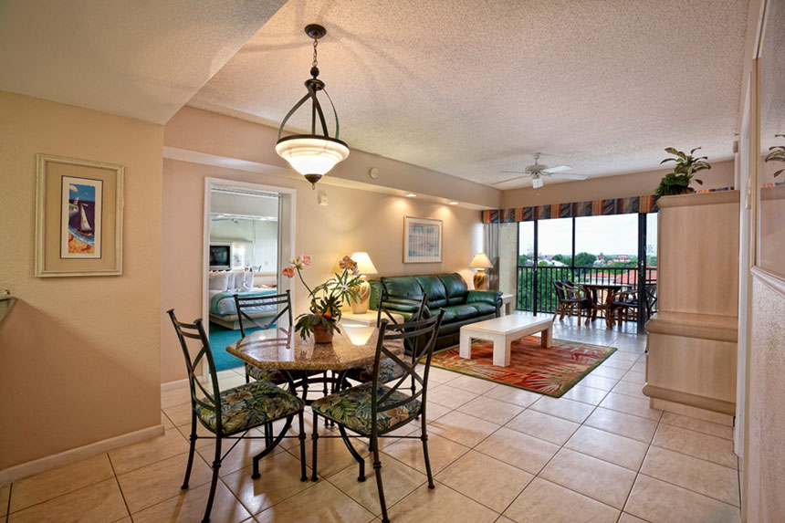Conveniently located less than a mile from the main entrance to Walt Disney World, Westgate Towers features spacious one- and two-bedroom villas, most of which offer a full kitchen.