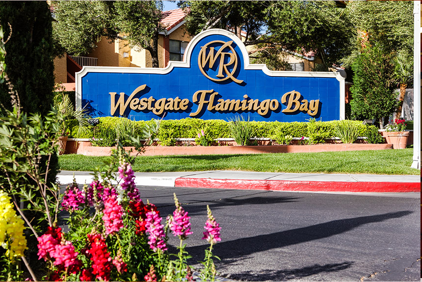 Westgate Flamingo Bay Resort Entrance