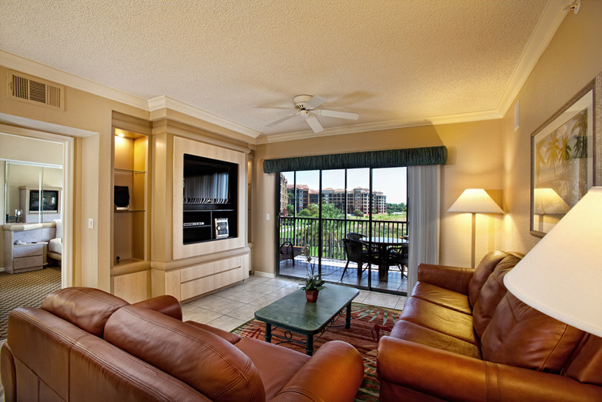 Westgate Lakes Resort Living Room