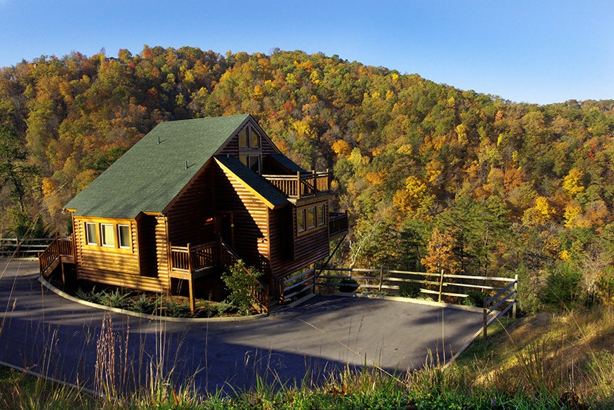 Westgate Smoky Mountain Cabin Overlooking Mountains