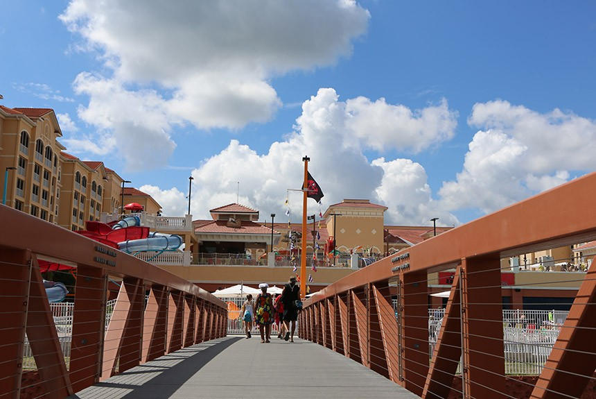 Westgate Town Center Bridge to Water Park