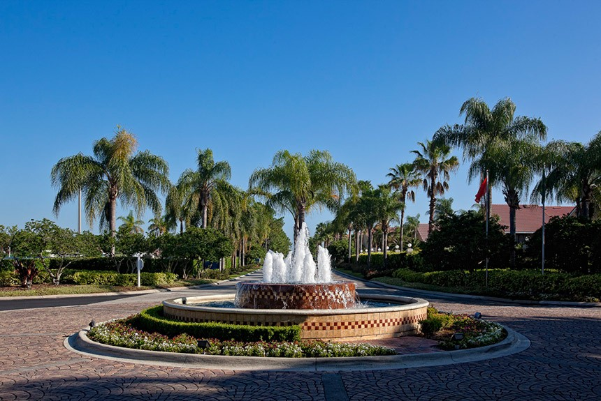Westgate Town Center Fountain
