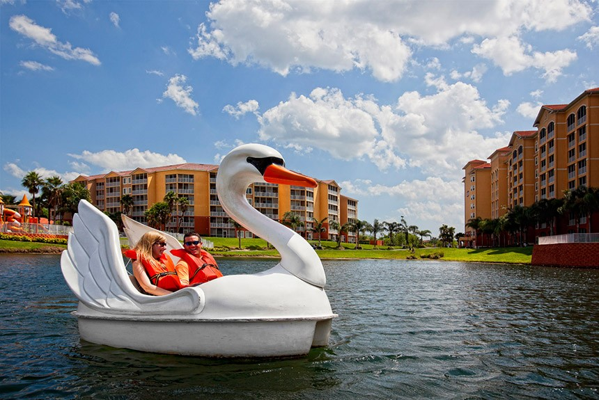 Westgate Town Center Paddle Boats