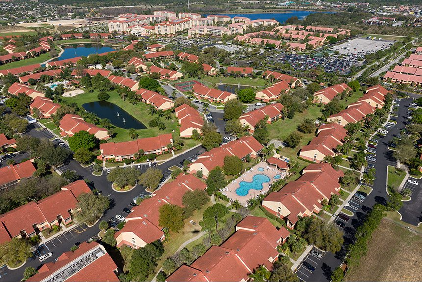 Westgate Vacation Villas Arial-View