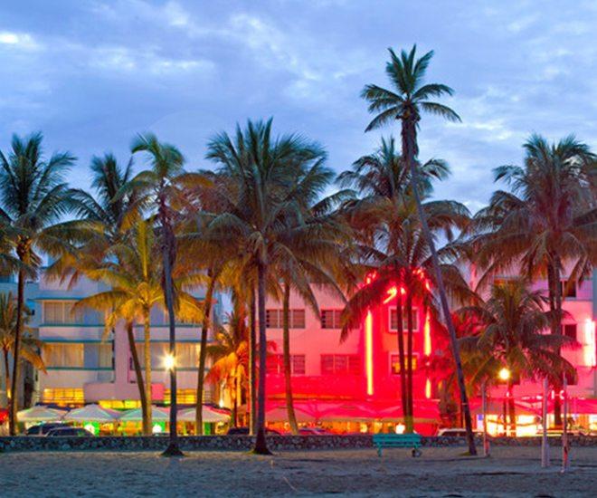 Ocean Drive in Miami