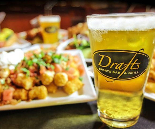 Drafts Sports Bar In Gatlinburg