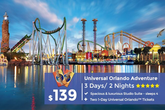 Universal Studios Orlando Packages See Resort Packages With Tickets