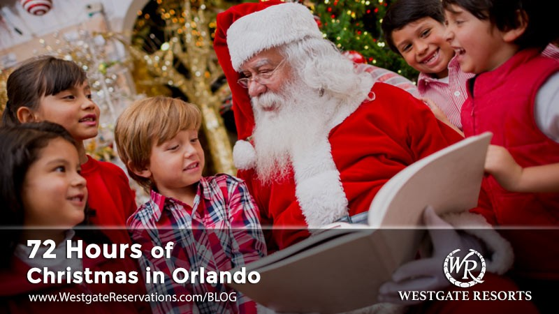 72 hrs of christmas in Orlando