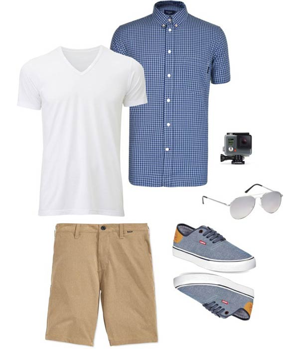Florida Vacation Packing List - Spring Men Outfit