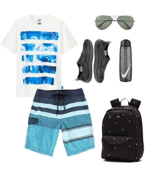 What to wear to Disney World Summer Men Outfit