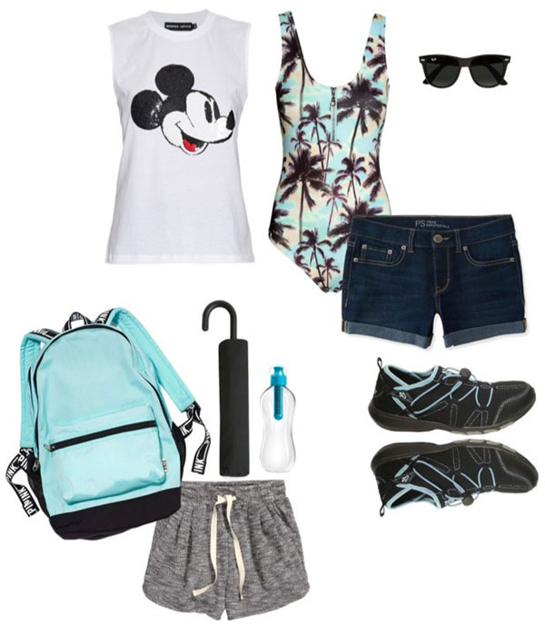 eab975e63d6 What to wear to Disney World - Florida Vacation Packing List