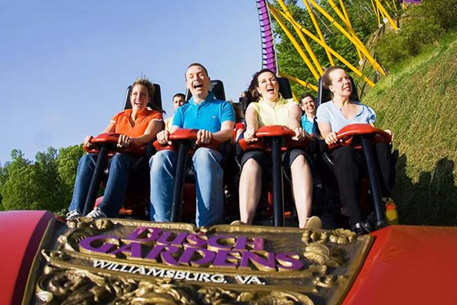 busch gardens williamsburg vacation package