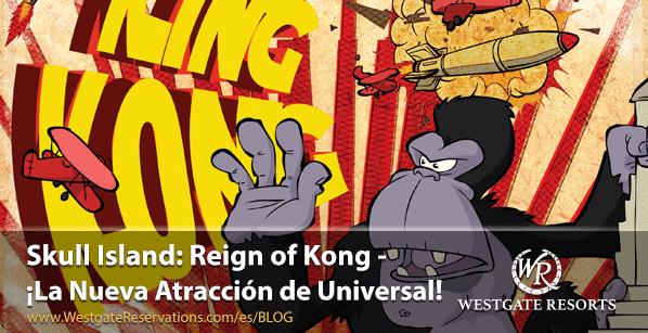 Skull Island Reign of Kong - La nueva atracción de Universal