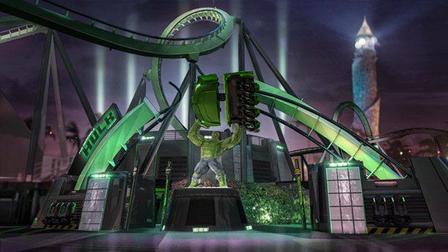 Increíble Hulk Coaster