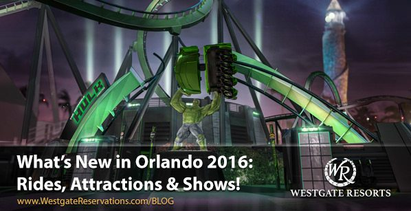 What's New In Orlando: Rides, Attractions & Shows!