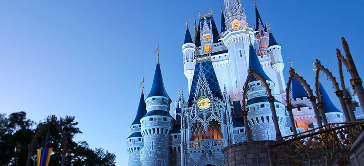 Disney Castle in Orlando, FL