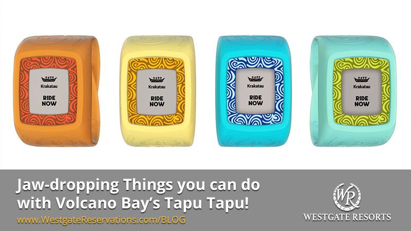 Things you Can do with Tapu Tapu - Universal Volcano Bay