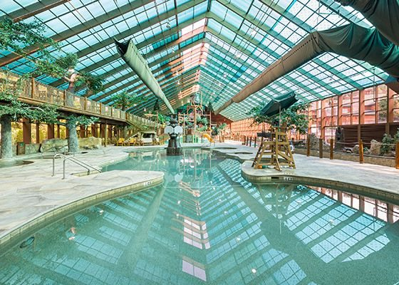 Gatlinburg Water Park - Westgate's Wild Bear Falls Indoor
