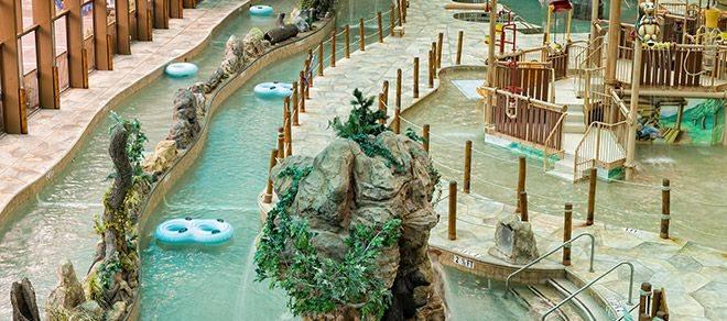 Wild Bear Falls Water park