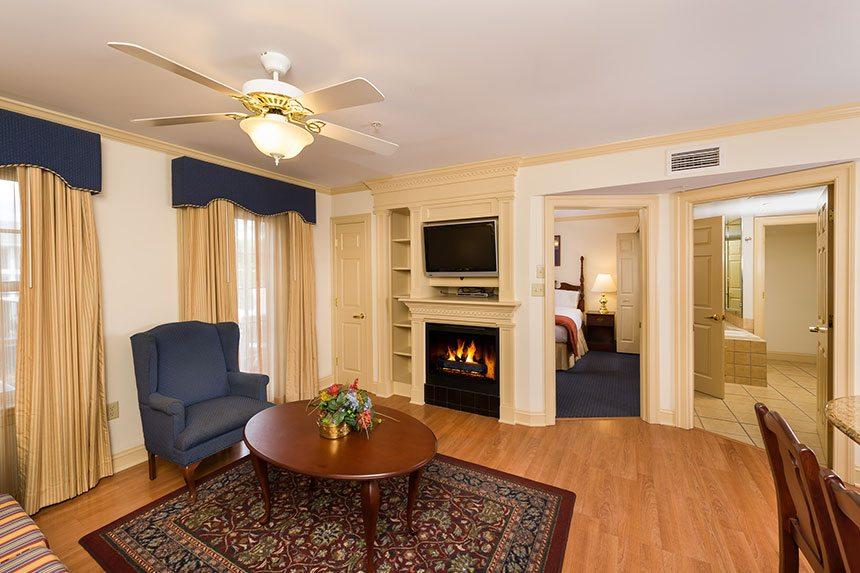 Westgate resort williamsburg accommodations - 2 bedroom hotel suites in williamsburg va ...