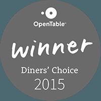 Open Table Winner 2015