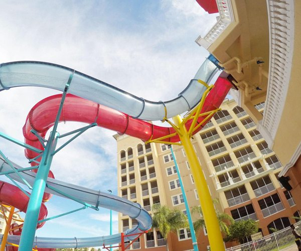 water slide at Westgate Resorts Water park