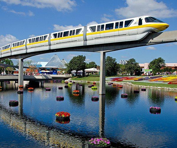 Disney's monorail