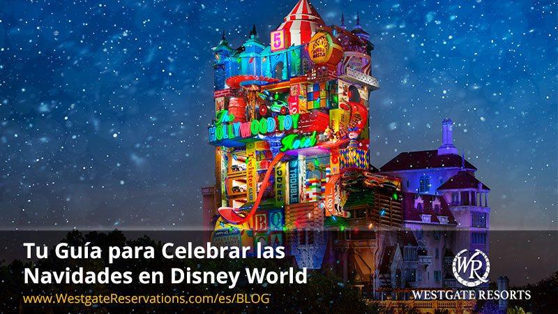 Guia Navidades Disney World Orlando