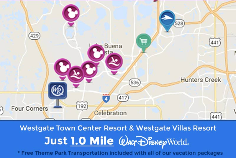 Westgate Resorts Close to Disney