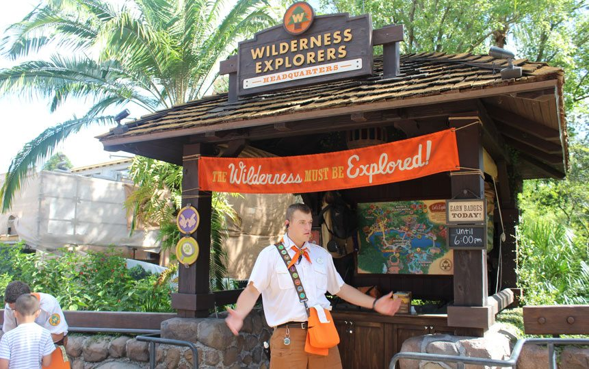 Epcot Wilderness Explorers - Disney Wait Time