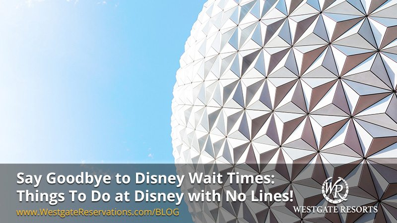 Say Goodbye to Disney Wait Times Things to do At Disney with no lines