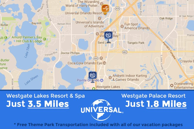 Westgate Resorts Close to Universal
