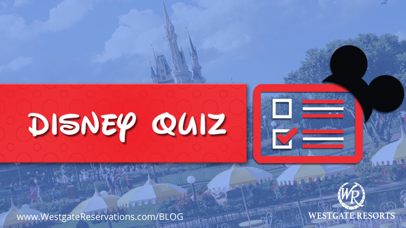 Disney Test your Knowledge Quiz
