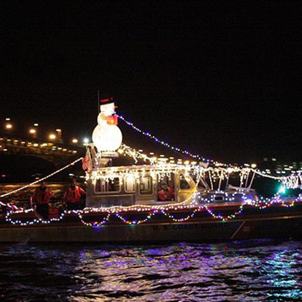 Yorktown Lighted Boat Parade