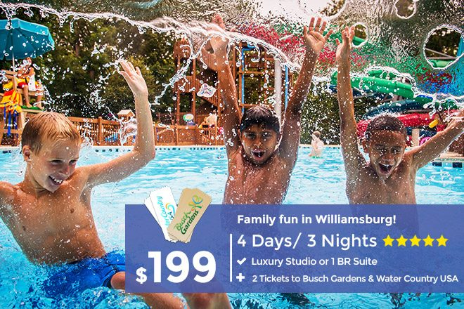 Busch Gardens Williamsburg Packages - Lowest Ticket Prices!