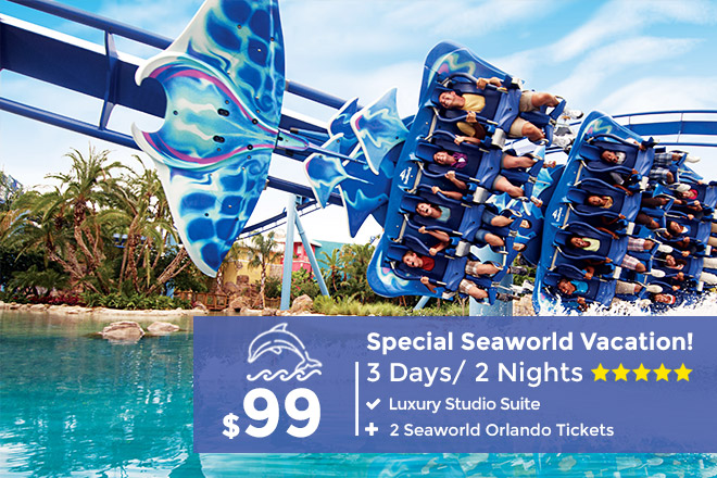 SeaWorld Orlando Deal: 3-Day Stay plus 2 SeaWorld Tickets