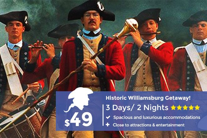 Colonial Williamsburg Package
