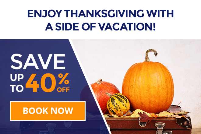 Westgate Resorts Thanksgiving Deals