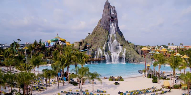 volcano bay water theme park