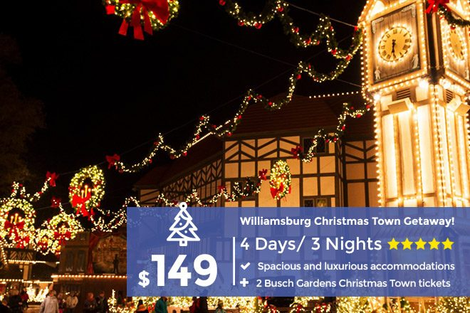Busch Gardens Williamsburg Christmas Town.Christmas In Williamsburg Enjoy The Holidays With These