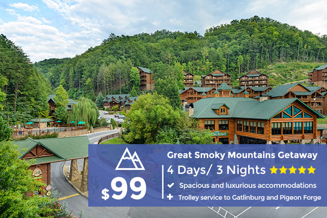 4-Day Resort Stay in the Great Smoky Mountains   From $99