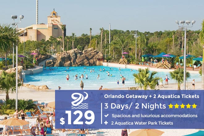 Aquatica Orlando Package Includes 3 Day Stay Plus 2 Aquatica Tickets