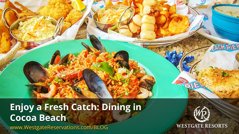 Enjoy a Fresh Catch Dining in Cocoa Beach