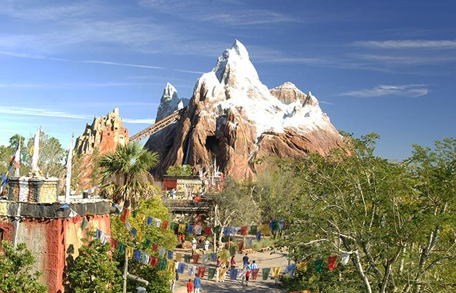 Mount Everest at Animal Kingdom