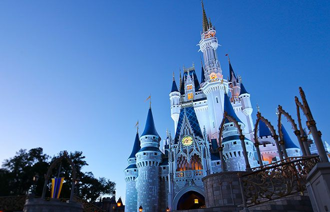 Disney's Magic Kingdom - Cinderella Castle