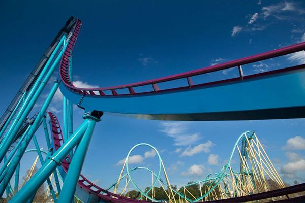 Mako Roller Coaster at SeaWorld Orlando