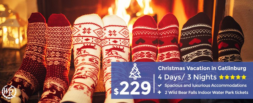 Christmas In Tennessee Vacation.4 Days 3 Nights Smoky Mountain Christmas Vacation Book Now