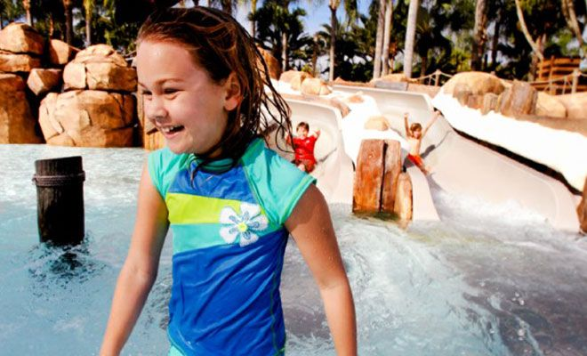 Girl while Vacationing at Disney's Typhoon Lagoon