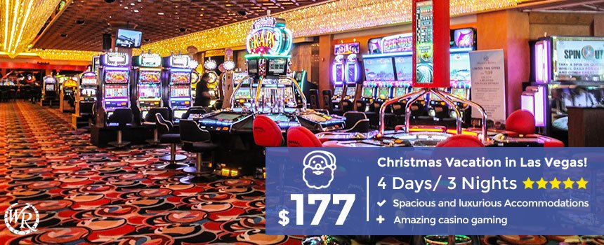 Las Vegas Christmas.Christmas In Las Vegas 4 Day Stay Starting From 177